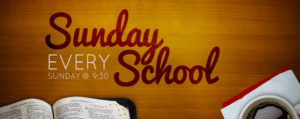 Get Connected with Sunday School!