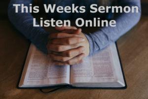 Sunday, December 3rd, 2017 – AM Service – 'Simeon – Righteous'